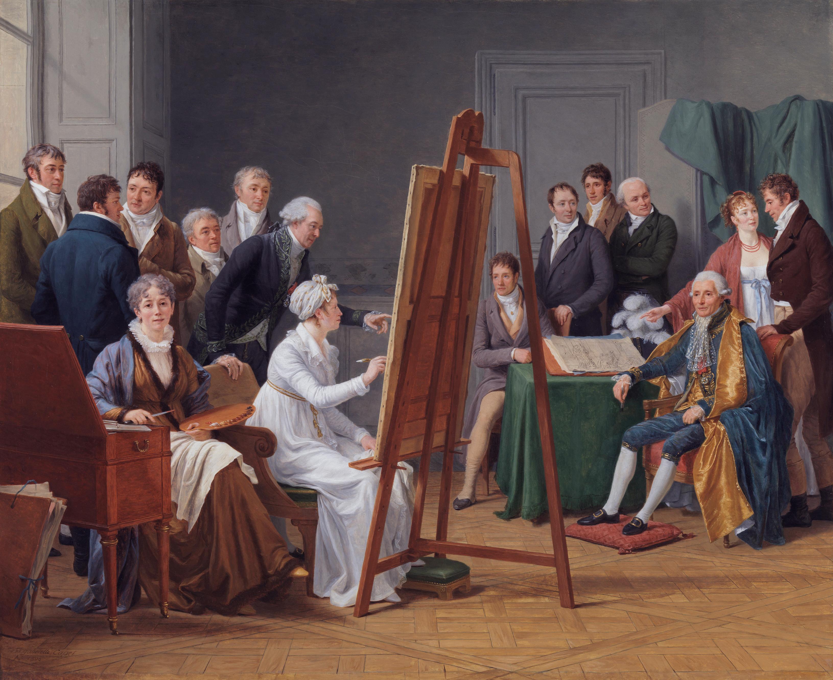 L'histoire cachée derrière « L'atelier de madame Vincent » de Marie Gabrielle Capet - Ça m'intéresse