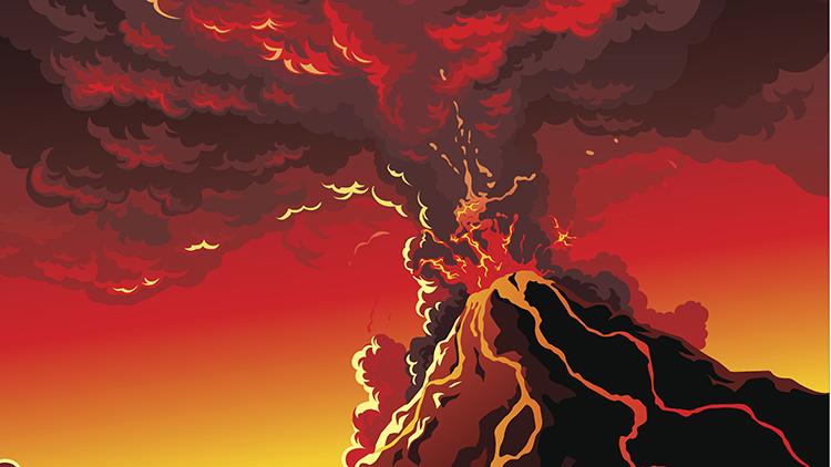 Combien y a-t-il de volcans actifs dans le monde ?