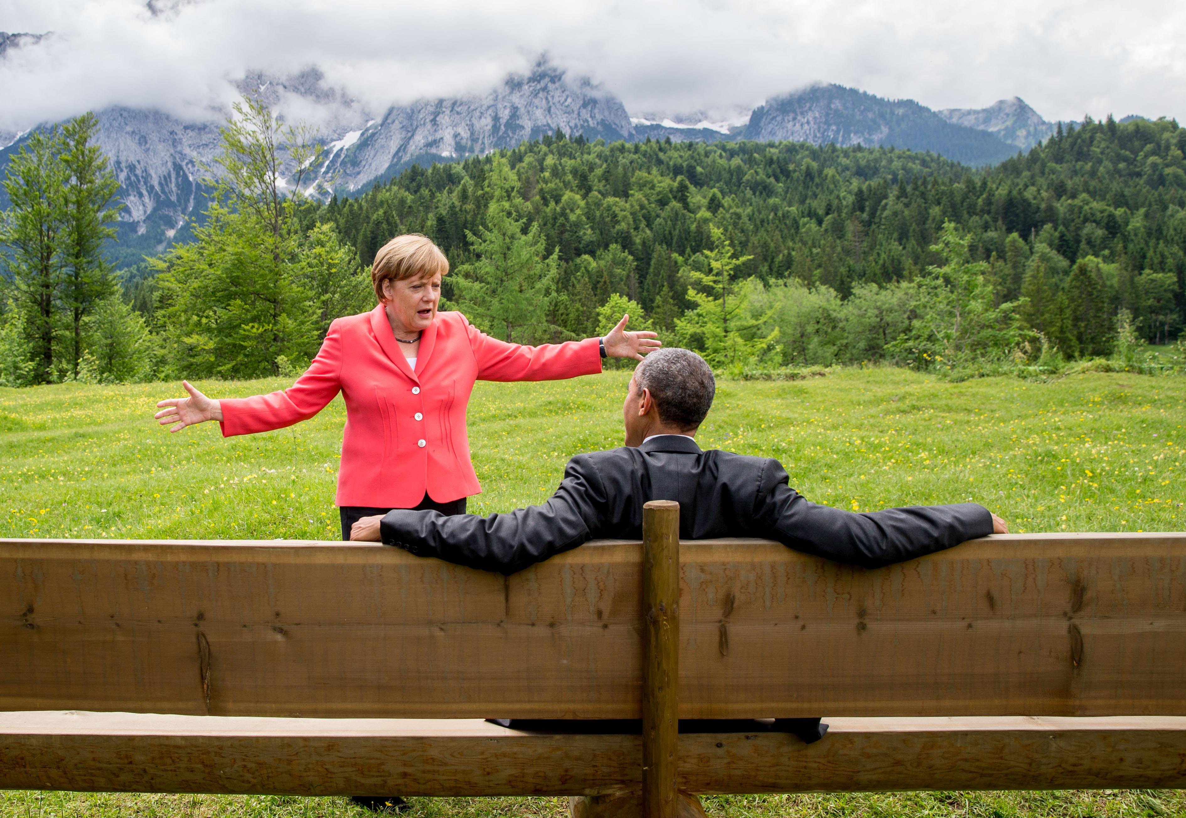 Angela Merkel : 16 ans de pouvoir en photos - Ça m'intéresse