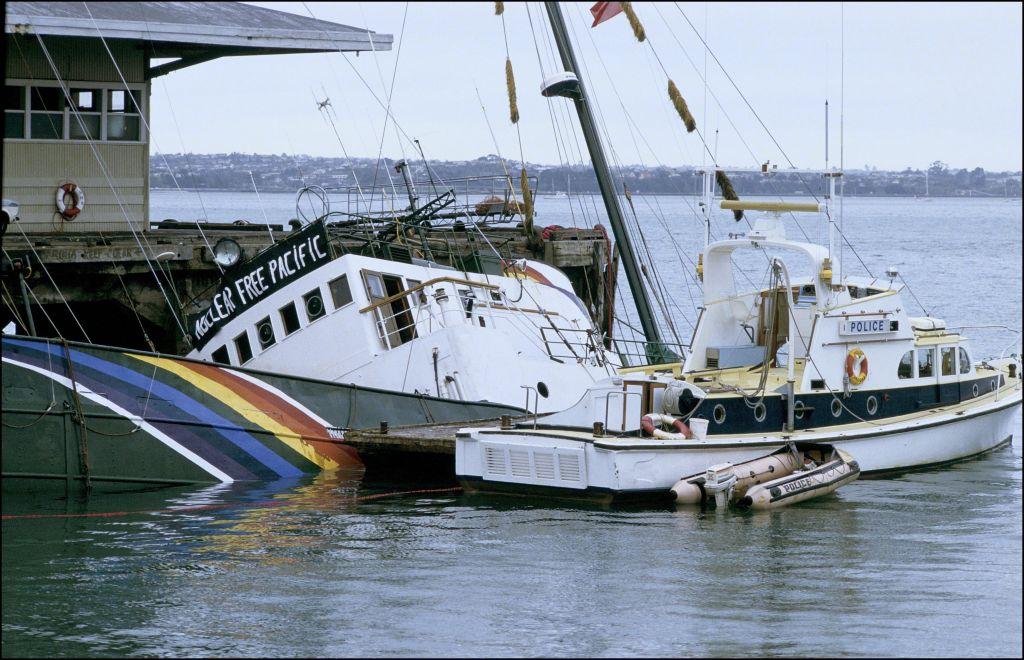 Rainbow Warrior : quand la DGSE fait couler le bateau de Greenpeace