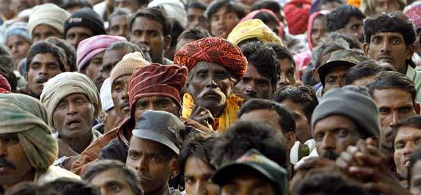 En 2030, l'Inde comptera plus d'habitants que la Chine. © REUTERS.