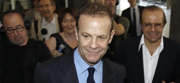 François-Marie Banier au Palais de Justice de Nanterre en juillet 2010 © REUTERS