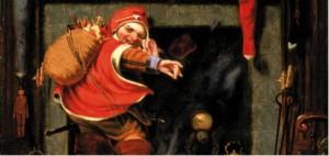 Peinture de saint Nicolas par Robert weir en 1838 ©Smithsonian American Art Museum