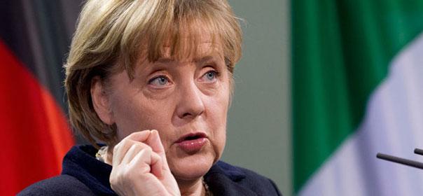 Angela Merkel a fortement fait pression pour l'adoption du pacte de stabilité ©REUTERS