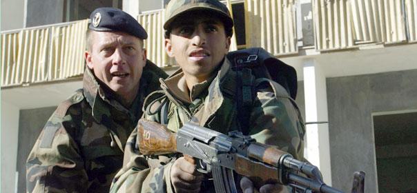 Nicolas Sarkozy vient d'ordonner la suspension des actions de formation auprès des forces afghanes. ® REUTERS.