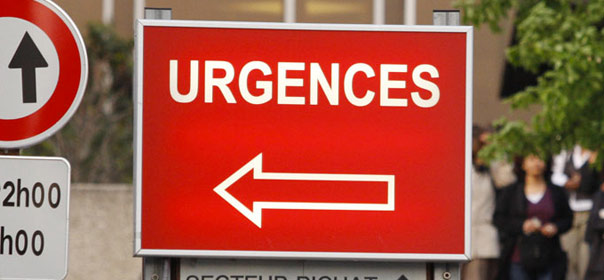 Face à l'épidémie de grippe, les médecins urgentistes sont débordés. © REUTERS.
