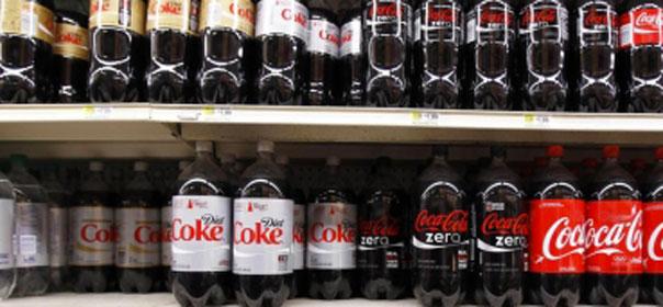 L'aspartame est notamment présent dans le Coca Light © REUTERS
