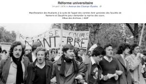 capture d'écran de la page Facebook nicolassarkozy.fr