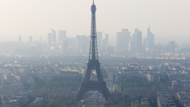 Paris, pollution, environnement