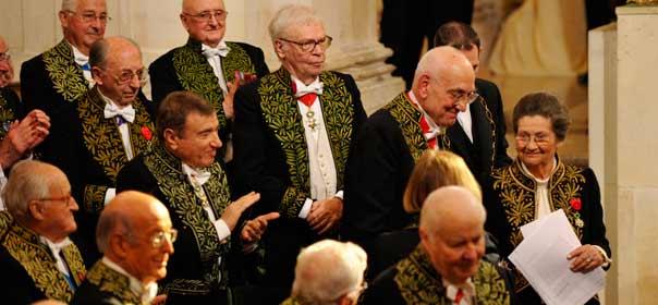 Les académiciens voteront le 26 avril pour attribuer le fauteuil numéro 40, laissé vacant par le décès de Pierre-Jean Rémy. © REUTERS.