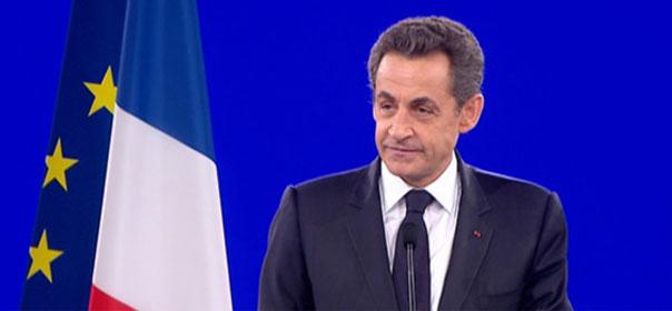 Nicolas Sarkozy au meeting de Villepinte le 11 mars 2012 - crédit photo REUTERS