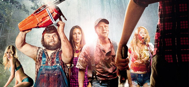 Tucker & Dale fightent le mal ou comment deux braves péquenauds sont pris pour des serial killers par une bande d'étudiants neuneus. © Allociné / Wild Bunch Distribution.