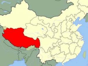 La région autonome du Tibet © Wikimedia