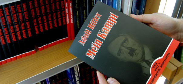 "Une traduction de ""Mein Kampf"" en Pologne. © REUTERS"