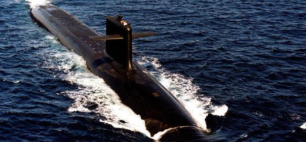 Le triomphant, sous-marin nucléaire lanceur d'engins (SNL) est une des pricipaux vecteurs de la dissuasion française © Reuters