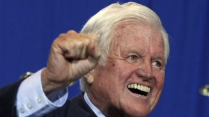 Edward Kennedy en avril 2009. © REUTERS