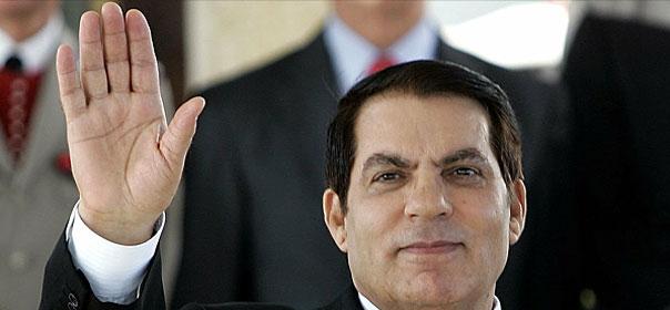 Le 14 janvier, Zine el Abidine Ben Ali quitte le pouvoir après 23 ans à la tête de la Tunisie. Crédit : REUTERS