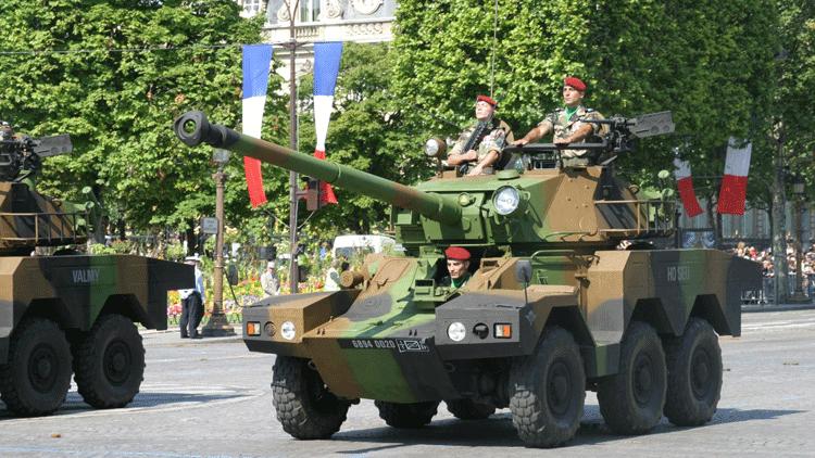 14 juillet, militaire