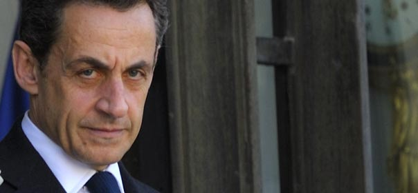 Nicolas Sarkozy, le 9 mai 2012. © REUTERS