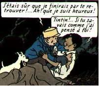 "extrait de ""Tintin au Tibet"""