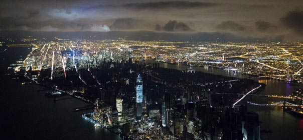New York City Black out, by Iwan Baan.