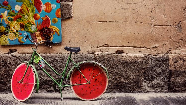 Pastèque, fruit