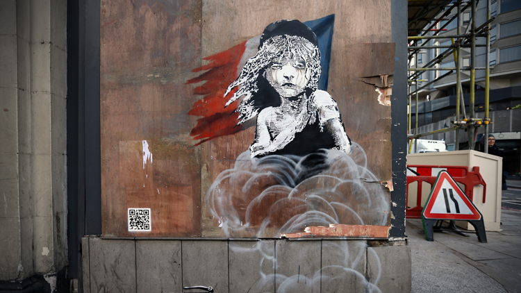 Banksy, Cosette, Calais