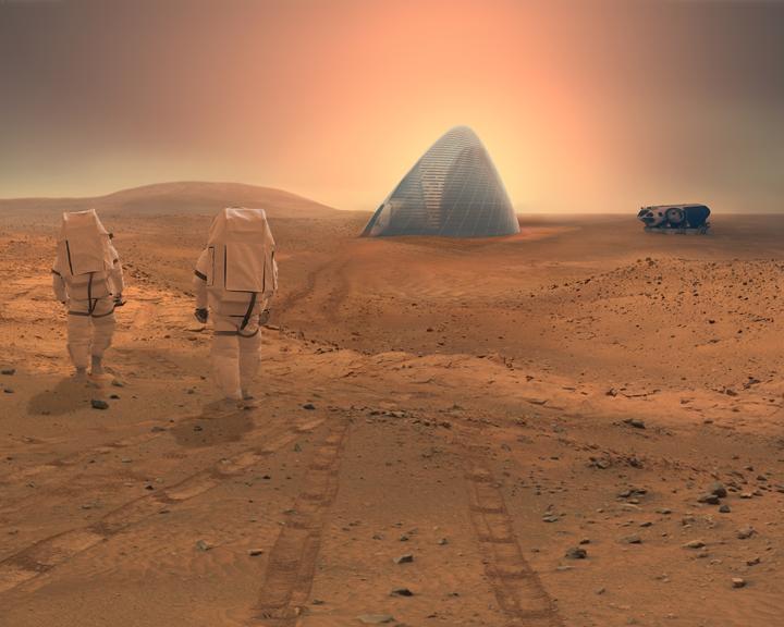 Mars, espace