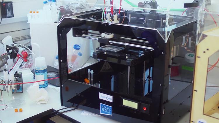 Heriot-Watt University, imprimante 3D à organes