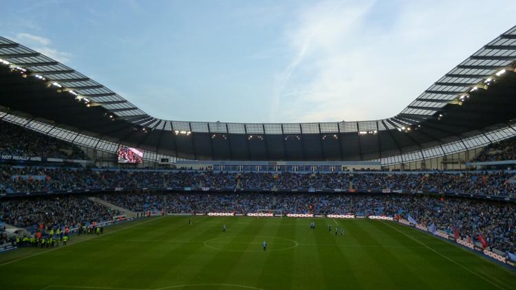 Pelouse, stade, Manchester City