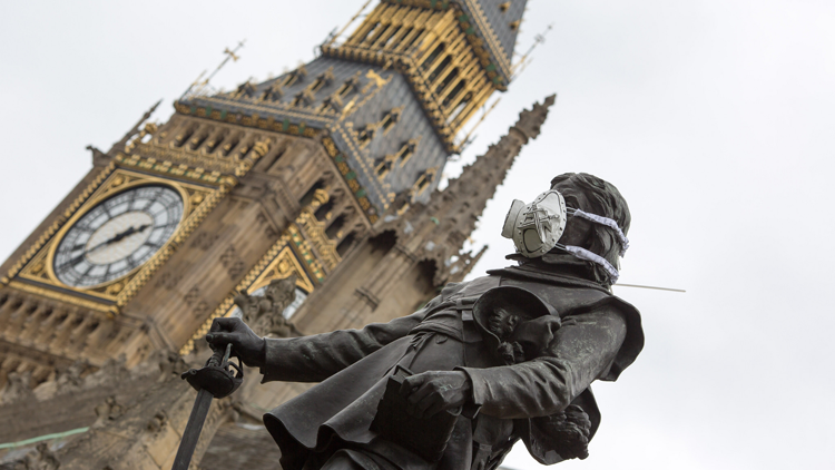 Oliver Cromwell, Londres, pollution
