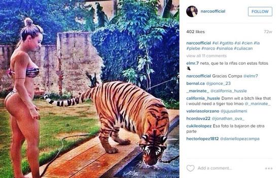 Capture d'écran du compte Instagram supposé d'Alfredo Guzman ©Instagram