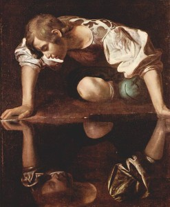 Narcisse, Le Caravage © Wikimedia Commons