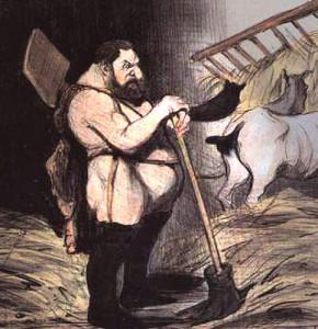 Augias, d'Honoré Daumier © Wikimedia Commons