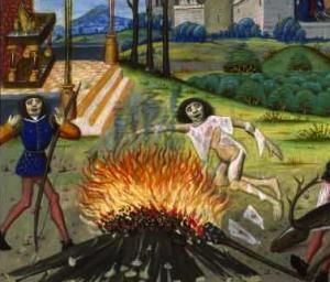 Mort d'Hercule, détail, par Raoul Lefèvre © Wikimedia Commons