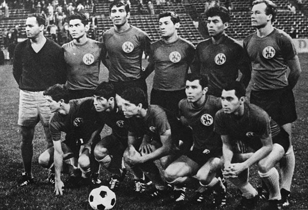 L'équipe du Salvador lors du match à Mexico city. ©DR