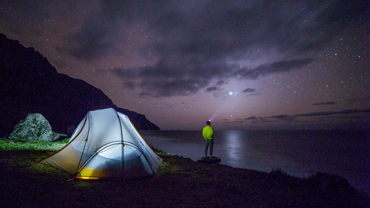 Camping, tente
