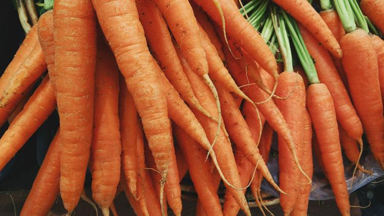 Carottes, légumes,