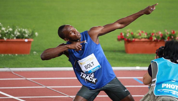 Usain Bolt, sport