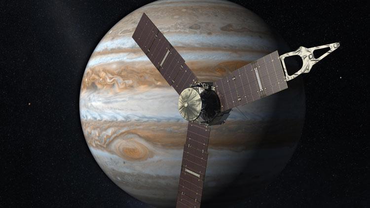 Jupiter, planète, Juno