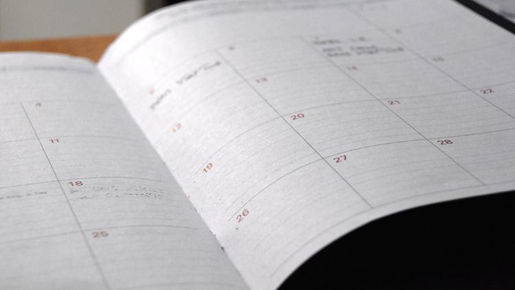 semaine, calendrier