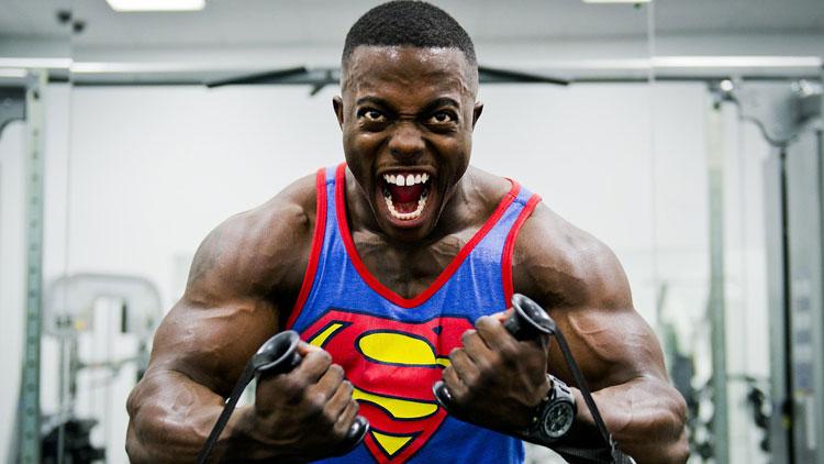 haltérophilie, superman