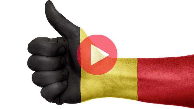 belgique, blagues belges, pouce