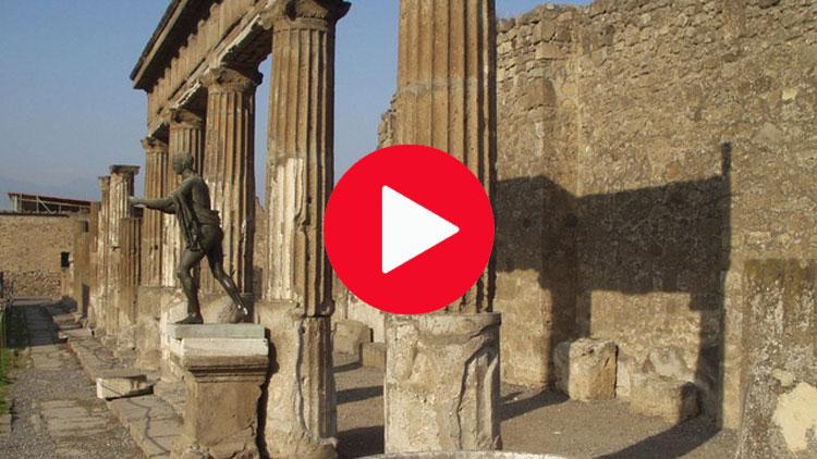 pompéi, archéologie, colonnes