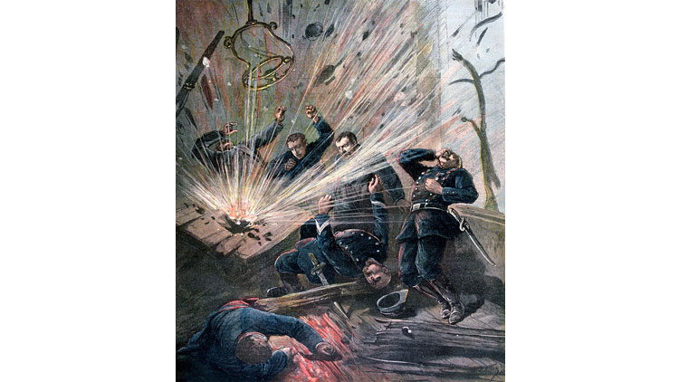 terrorisme, Émile Henry, attentat Saint-Lazare