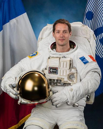 astronaute, thomas pesquet, espace