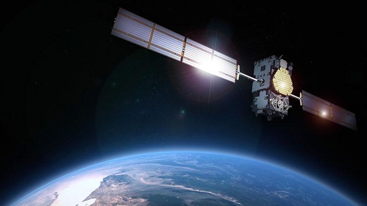 satellite, galiléo, Terre
