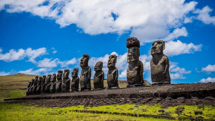 statue, île de Pâques