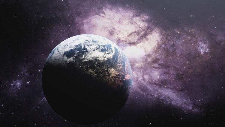 Terre, planète, espace