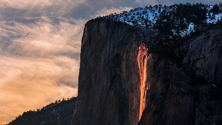 cascade, Yosemite, Horsetail
